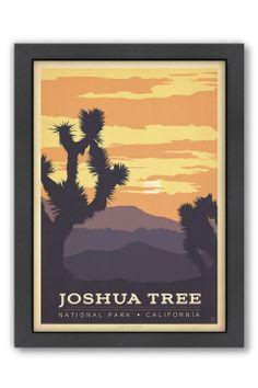"Joshua Tree, Framed Print (18"" x 24"") - Beyond the Rack"