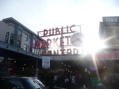 Seattle Public Market - specifically, the balsamic vinegar booth, mmmmmm
