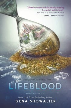 #CoverReveal  Lifeblood (Everlife, #2) by Gena Showalter