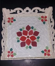 Mosaic Garden, Mosaic Art, Mosaic Glass, Mosaic Projects, Projects To Try, Mandala, Art Furniture, Flora, Frame
