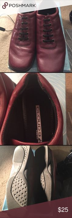 Cloud9 by Nine West fashion shoes 7.5 Worn once 7.5 burgundy Nine West Shoes Sneakers