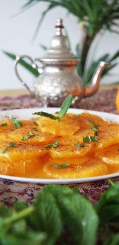 Orange Recipes Baking, Raw Food Recipes, Indian Food Recipes, Gourmet Recipes, Salad Recipes, Healthy Recipes, Ethnic Recipes, Delicious Recipes, Morrocan Food