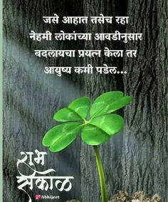 Inspirational Quotes In Marathi, Marathi Quotes, Hindi Quotes, Qoutes, Funny Quotes, Good Morning Msg, Good Morning Messages, Good Morning Quotes, Feelings Words