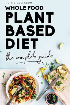 Whole Food Plant-Based Diet (Full Guide) Healthy Recipes For Weight Loss, Healthy Eating Tips, Eating Habits, Healthy Habits, Healthy Choices, Healthy Foods, Whole Plant Based Diet, Whole Food Recipes, Cooking Recipes