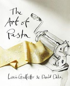 I like the mix media approach to this book cover, with the use of hand drawn type and illustration alongside the photographed image of  pasta. Looks really nice together.