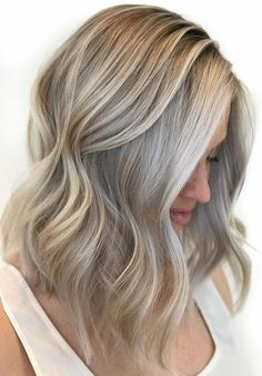31 Fantastic Grey Blonde Hair Colors for Ladies in 2018. Here we are going to present the beautiful and unique trends of grey blonde hair colors. If you dont know how about best hair color styles then learn here how to use the unique styles of grey blonde hair colors on medium, long and short haircuts. This is one of the best hair color shades ever that you may try in 2018.