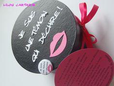 Kit pour témoin de mariage femme : Cadeau de remerciement par lilou-carterie