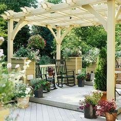 Pergola roof by DeAnna Crabtree