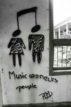 Music connects people!!