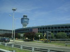 LaGuardia Airport, Queens, NYC - On the waterfront of Flushing Bay and Bowery Bay.
