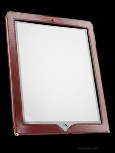 #SenaCases Sena Cases - Designer Leather Cases : iPad Leather Cases Sarach LeatherSkin for Apple