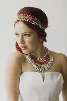 Fun J.Crew bridal accessories | Milou + Olin Photography | see more on: http://burnettsboards.com/2014/06/anthropologie-j-crew-wedding-style/