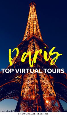 8 Virtual Tours of Paris: Explore Iconic Places in Paris Online ⋆ The World As I See It Europe Destinations, Europe Travel Guide, France Travel, Travelling Europe, Paris Travel, Amazing Destinations, Travel Guides, Traveling, Virtual Travel
