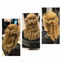 Szeretjük az esküvői szezont, ilyenkor szépségeket alkothatunk   #instafashion #beautysalon #hairstyle #hairstyles #hairs #hairsalons #hairbunmaker #hair #prilaga #hairfashion #hairbuns #hairsalon #hairdresser #hairbun #hairofinstagram #hairoftheday #konty #menyasszony #kiengedettkonty#magdiszepsegszalon Dreadlocks, Hair Styles, Wedding, Beauty, Hair Plait Styles, Valentines Day Weddings, Hair Makeup, Hairdos, Haircut Styles