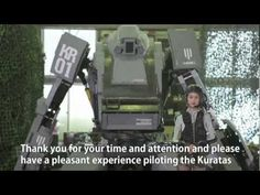 japan's Kuratas, real robot combaters