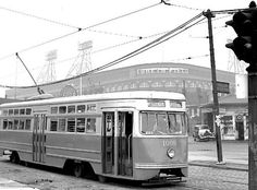 Streetcar at Ebbets Field (Brooklyn New York, 1947).Oh boy does that bring back memories