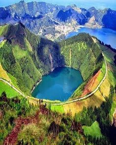 Lake of Fire. São Miguel Island-Azores.Portugal