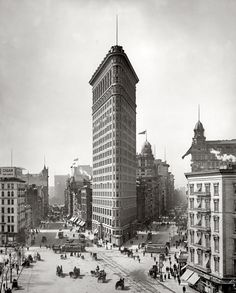 flatiron building, broadway and fifth ave.nyc-junipergallery Fine-Art Prints by Juniper Gallery