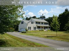 Houses for sale in Newtown CT.  83 Berkshire Road Sandy Hook. Buy or sell a home with the real estate brokerage group (203) 733-1613 => www.askpropertygal.com