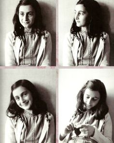 """Anne Frank - Anne Frank's diary is one of the most widely read books in the world. It reveals the thoughts of a young, yet surprisingly mature 13-year-old girl, confined to a secret hiding place. """"Despite everything, I believe that people are really good at heart."""""""