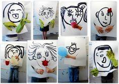 les petites têtes de l'art: Les petites bouilles du mercredi