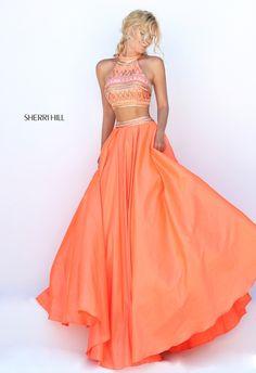 Sherri Hill 50310 two-piece prom dress. https://www.pinterest.com/behzadj/jovani-prom-dresses/, https://www.pinterest.com/behzadj/blush-prom-dresses/ or https://www.pinterest.com/behzadj/alyce-paris-prom/ for other two-piece prom dresses. Sherri Hill is selling out fast.