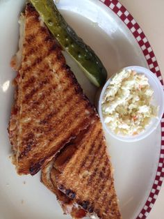 Grilled cheese, bacon, tomato.  Ambrosia Diner, Queensbury.