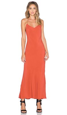 Shop for Lovers + Friends x REVOLVE T Strap Slip Dress in Burnt Orange at REVOLVE. Free 2-3 day shipping and returns, 30 day price match guarantee.