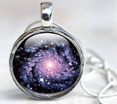Galaxy Glass Pendant, our milky way is a beautiful place and this space pendant allow you to wear it around your neck. http://glasscharmed.co.uk/product/galaxy-glass-pendant/