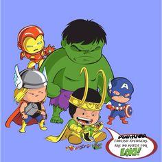 Cute Avengers!