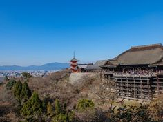 Kiyomizudera temple in Kyoto - Japan  Such a view of the city from up there, outstanding