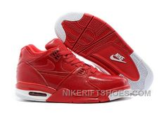 brand new 90a87 06099 Nike Air Flight  89 Red Leather Basketball Shoes For Top Sale SJkkH, Price    94.00 - Nike Rift Shoes