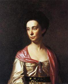 Mrs. Roger Morris (Mary Philipse), 1771 by John Singleton Copley. Neoclassicism. portrait. Winterthur Museum, Garden and Library, Winterthur, DE, US