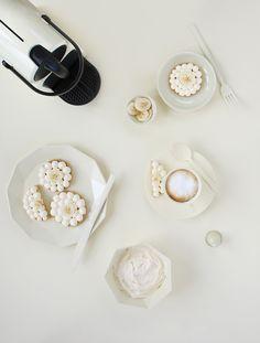 Monochromes Nespresso x Griottes - Vanilla Cream - sablés banane et vanille