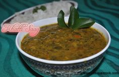 Khatti Saag (Amaranth leaves cooked with lentils) ~ Yes I can cook