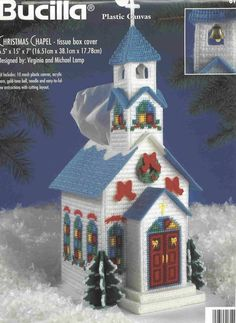 Christmas Chapel TBC Plastic canvas