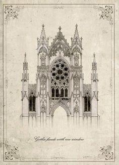 Architectonic detail ref.03 neo retro column por SoulArtCorner