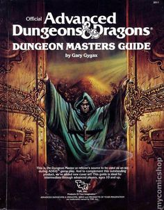 "ashelfofbooks: "" Official Advanced Dungeons & Dragons Dungeon Masters Guide by Gary Gygax TSR Inc 1979 ISBN 0880380519 "" I really need to get mine out of storage. Dungeons And Dragons Adventures, Dungeons And Dragons Art, Advanced Dungeons And Dragons, Gary Gygax, Player's Handbook, Dungeon Master's Guide, D Book, Dnd Art, Illustrations"