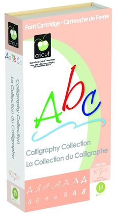 Cricut Calligraphy Collection Cartridge 290592 in Crafts | eBay