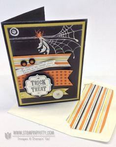 Stampin up stampinup stamp it pretty mary fish orders halloween card tag for you idea label bracket punch