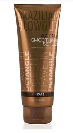 Hair Accessories | Brazilian Blowout Daily Smoothing Serum 8 Ounce >>> More info could be found at the image url.-It is an affiliate link to Amazon. #HairAccessories