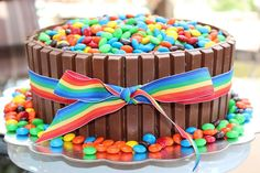 Teen Birthday Cake Ideas-Kitkat Cake