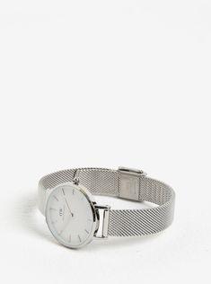 Dámské hodinky ve stříbrné barvě Daniel Wellington c970b9067d