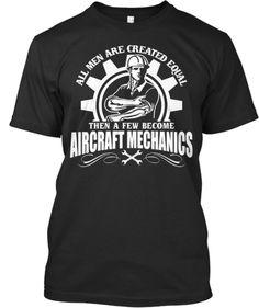 A few become Aircraft Mechanics