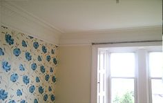 One of our recent jobs painting and decorating in Edinburgh.  I really like the clean, crisp finish between the wallpaper and the coving. We are proud of our workmanship and we have a long list of satisfied customers. Visit our website for more :)