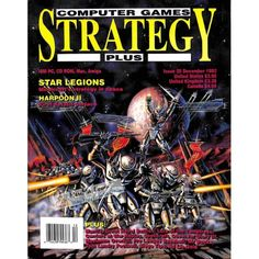 Cover Print of Computer Games Strategy Plus, December 1992 | $6.60