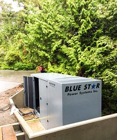 PRIMA Power System supplied a new Blue Star GM100 Generator to a great client in Tofino.  We are proud to supply our BC customers with high quality & reliable products. Contact us today for more information 1-604-746-0606.  #generatorsales #BlueStarPower #PrimaPowerSystems #powersystems #Commercial #gensets #standbypower Generators For Sale, Commercial, Stars, Blue, Products, Star
