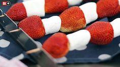 BAMS-BBQ-AKADEMIE, TEIL 11 Erdbeer-Marshmallow-Spieße mit prickelnder Überraschung