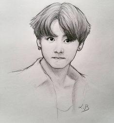 My Sketches - Jungkook Jungkook Fanart, Bts Jungkook, Fanart Bts, Taehyung, Kpop Drawings, Pencil Art Drawings, Art Drawings Sketches, Sketch Art, Watercolor Free