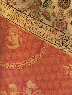 """Antique French """"Chef de piece"""" Factory stamp via Trouvais"""